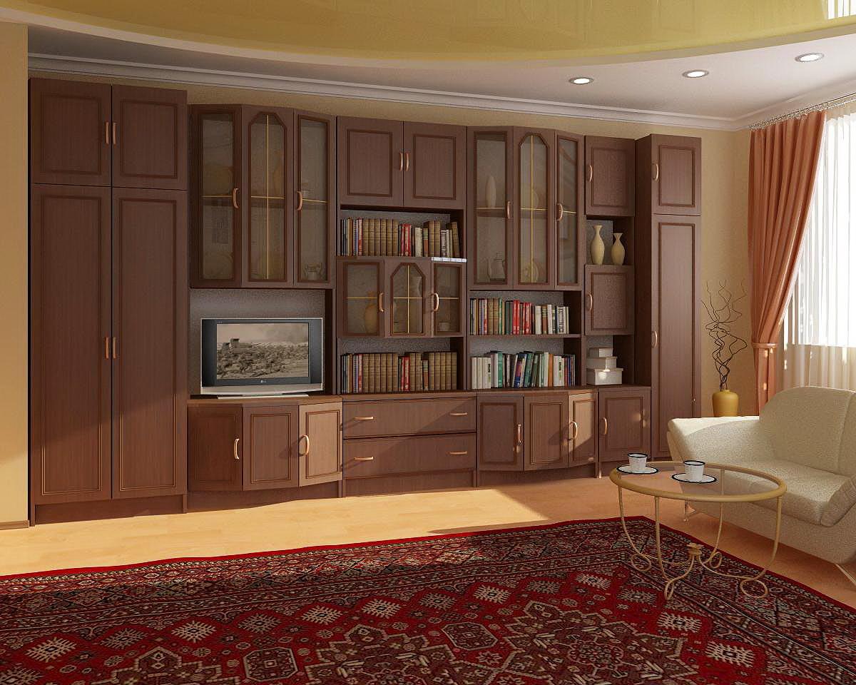 """Купить мебельная стенка президент в москве от компании """"кухн."""